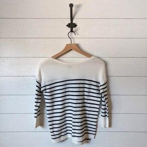 Old Navy Nautical Stripe Lightweight Sweater XS
